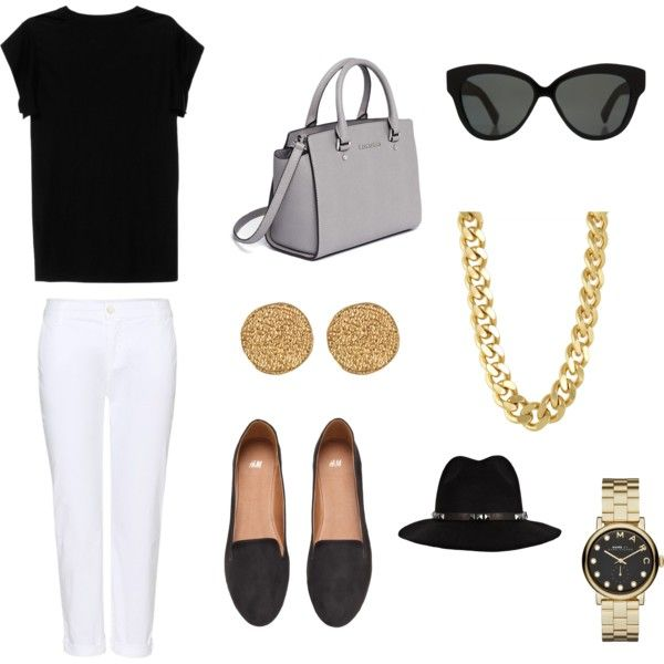 Jackie O 9 by allygardiner on Polyvore featuring Isabel Marant, J Brand, H&M, MICHAEL Michael Kors, CC SKYE, Karen Kane, Marc by Marc Jacobs, Linda Farrow and Anine Bing