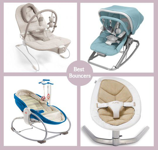 The Best Baby Bouncer for Any Budget: From Cheap to Moderate to Splurge. Baby Registry idea.