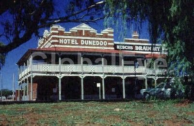 Country Hotel. Dunedoo, New South Wales, Australia. Stock Photo By Rob Walls