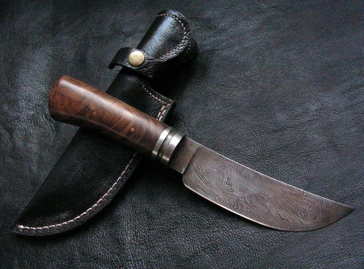 Custom Damascus Handmade Hunting Knife