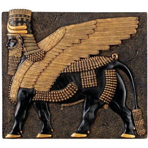 ASSYRIAN SYMBOL, major kingdom  near the east side of Mesopotamia. through out  the late Iron Age