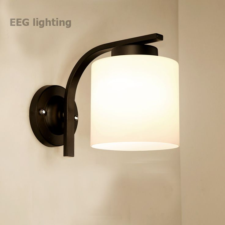 E27 LED Bulb Lamparas Holder Modern Led Wall Lights For Bedroom Study Room Iron Glass Home Decoration Wall Lamp Free Shipping. Yesterday's price: US $69.94 (57.55 EUR). Today's price: US $44.06 (36.54 EUR). Discount: 37%.