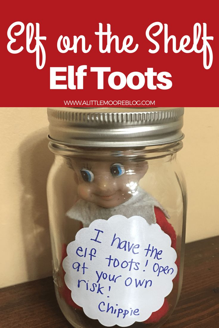 My kids are going to find this elf on the shelf elf toots idea hilarious! It's another easy idea that makes a big impact! Albeit a smelly one! All you need is your elf on the shelf, peppermint essential oil, a cotton ball and a note! I have a feeling this will be [...]