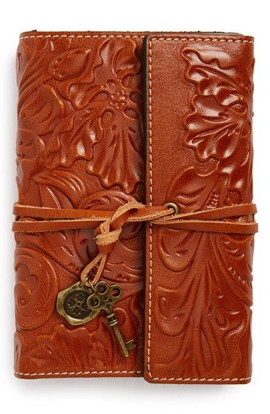 Patricia Nash 'Carmona' Leather Journal available at #Nordstrom