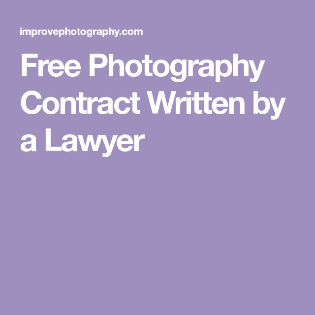 The 25+ best Photography contract ideas on Pinterest Photography - guidelines freelance contract writing
