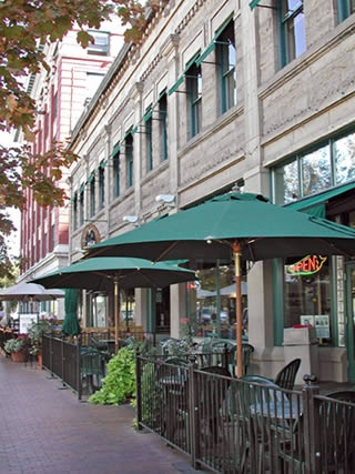 Restaurant Row In The Heart Of Downtown Is Always Hustling And Bustling On Weekends During Warmer Months This Th Around Boise Area
