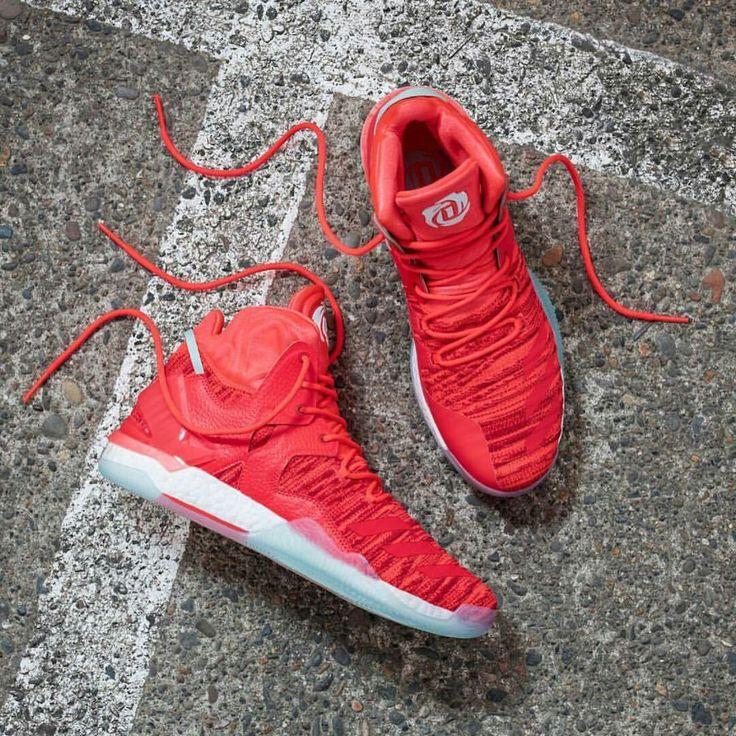 Hot Adidas D Rose 7 Solar Red TopDeals