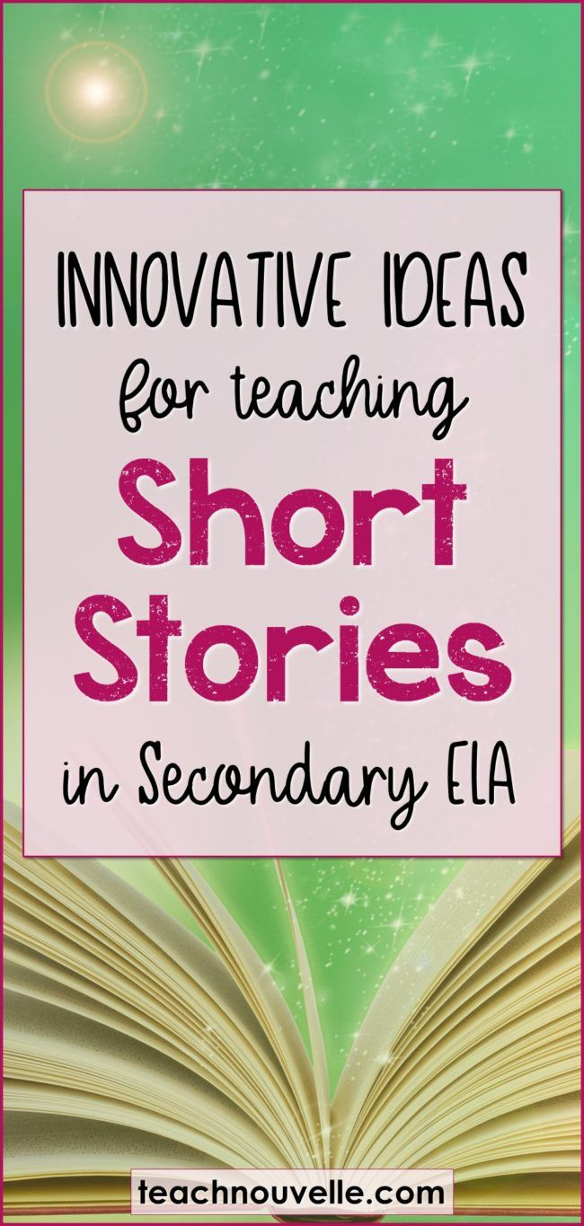 Here are some of my favorite resources and ideas for teaching short stories in middle school and high school. Teaching short stories can be a great way to build student confidence and endurance with a number of skills. These texts span all genres and are hugely versatile – teach them as a unit or woven in with other texts throughout the year. (blog post)