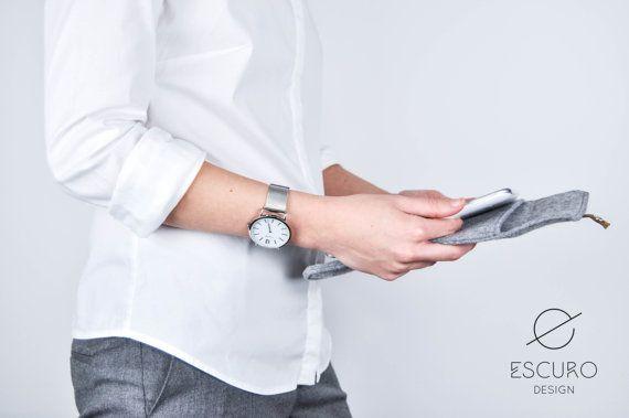 Cover Galaxy Pad 2 Galaxy Tab Felt Case Felt di EscuroDesign