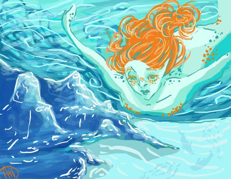 Alessia V, 'Under Water', digital 2014.