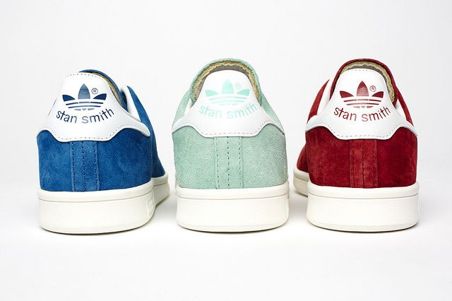 Stan Smith SS14 - I had Adidas in this light seafoam green color. So bomb.