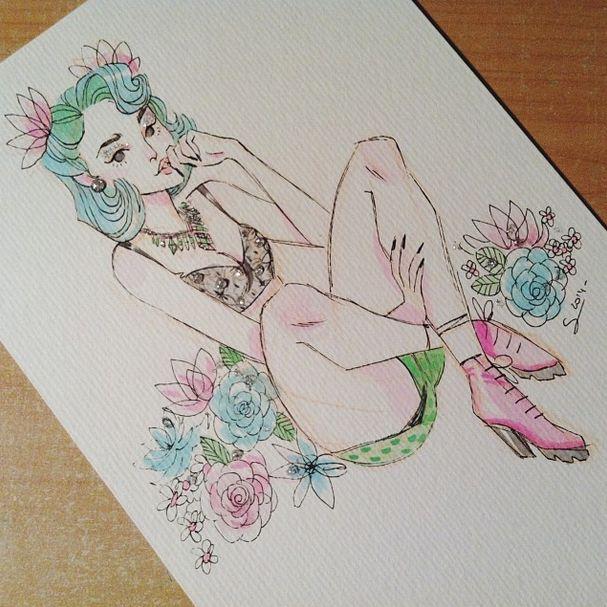 Doodles from my Instagram @sibylline_m - Sibylline's Sketchblog