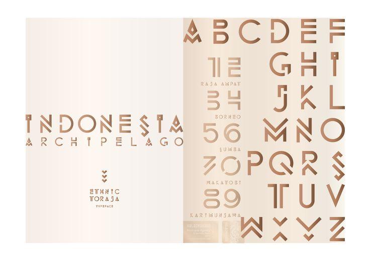 Ethnic Toraja font