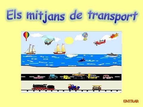 els mitjans de transport by aSGuest20234 via authorSTREAM