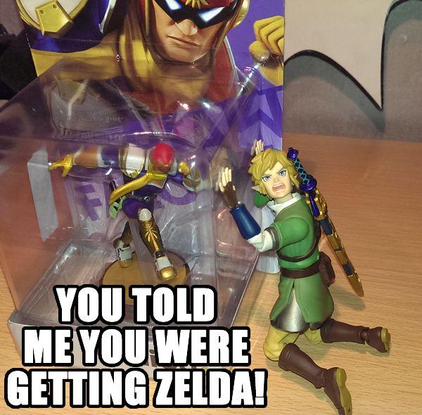 Sorry Link. #amiibo