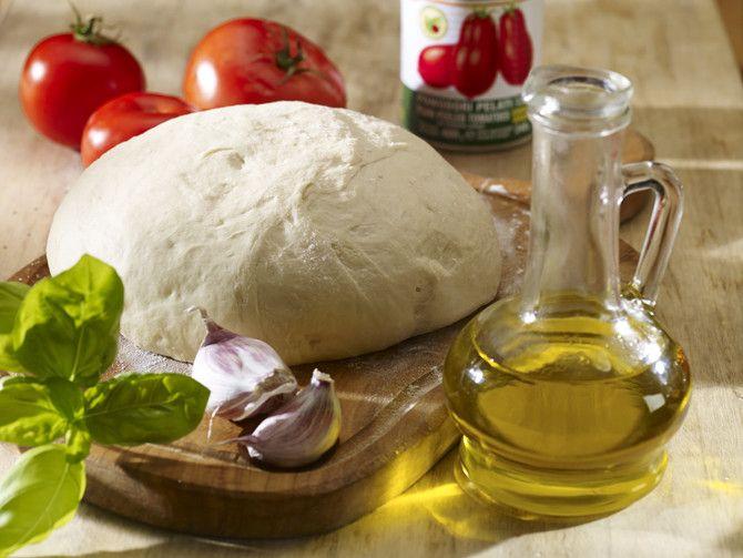 Przepis na Oryginalne włoskie ciasto na pizzę
