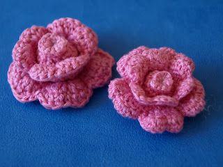 Roosjes zijn en blijven mooi!    Dit roosjes patroon stond beschreven, maar was zo klein dat het niet te lezen was.... Ok, ...