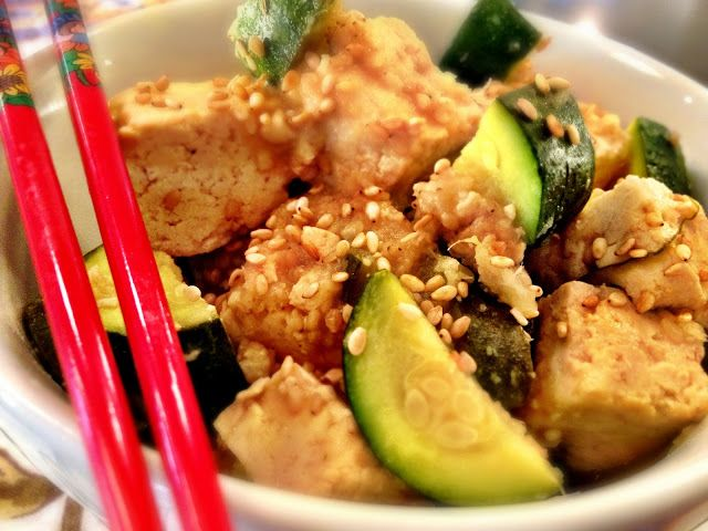 Kale With Love: Island Teriyaki Crockpot Tofu