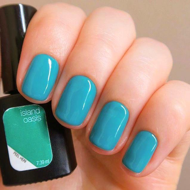 Sensationail Color Gel Polish Blue Yonder by nailene #16