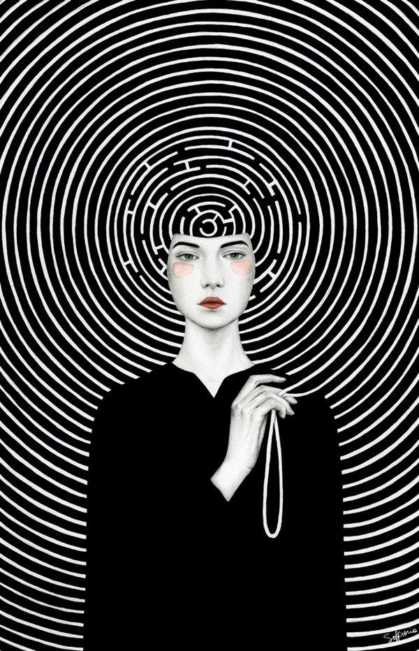 Illustrations by Sofia Bonati   http://inagblog.com/2016/07/sofia-bonati/   #illustrations