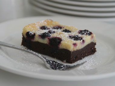 Blueberry Cheesecake Brownies | Recipe by Annabelle White