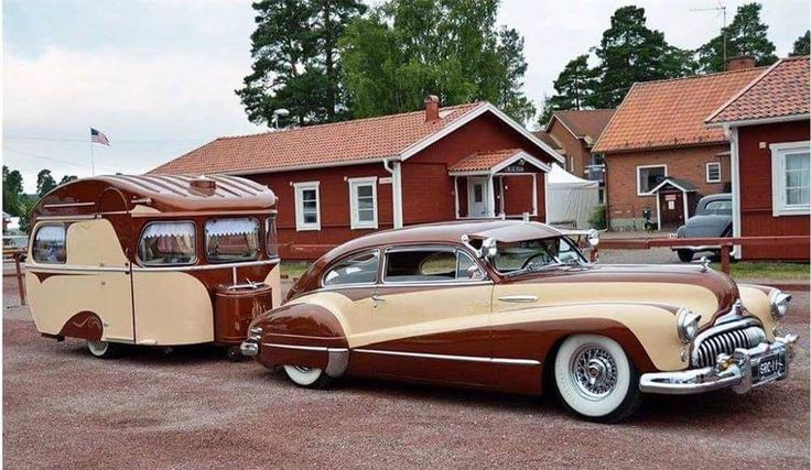 1947 Buick and Trailer Camper