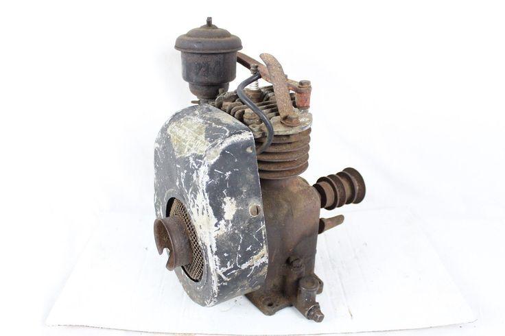Vintage Briggs Stratton WI Engine Antique Old Rare 1940s 50s Tensioner Motor | eBay