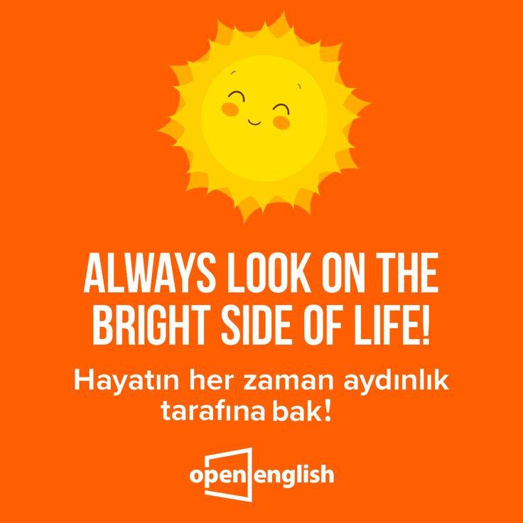 Güzel sözlerde bu hafta!  #OpenEnglish