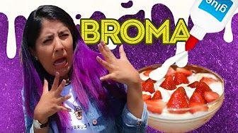 BROMA: DESAYUNO CON PEGAMENTO | BROMAS PLATICA POLINESIA LOS POLINESIOS - YouTube
