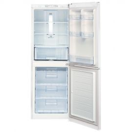 This LG bottom freezer refrigerator features multi-air flow cooling, ensuring an equal amount of chilled air reaches each shelf for quick and uniform cooling. With the quick freeze drawer, small fruits and vegetables freeze quickly, so flavors are preserved for future use. The unit is white and is 23 3/8