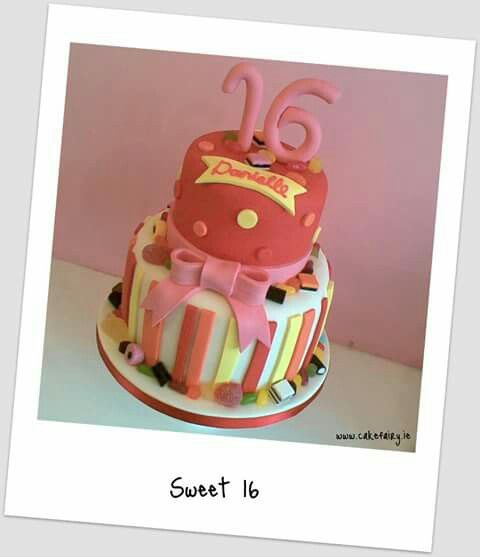 Sweets Birthday Cake