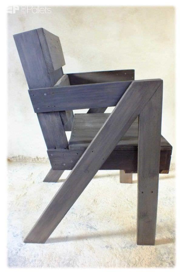 Chaise En Bois De Palette / Pallet Chair Pallet Benches, Pallet Chairs & Stools