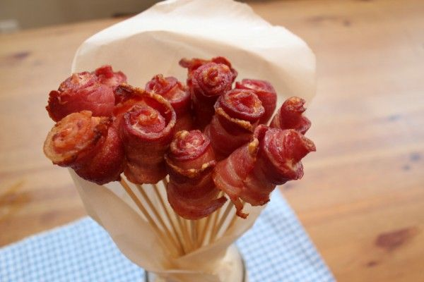 Easy Homemade Bacon Roses | Health, Home, & Happiness