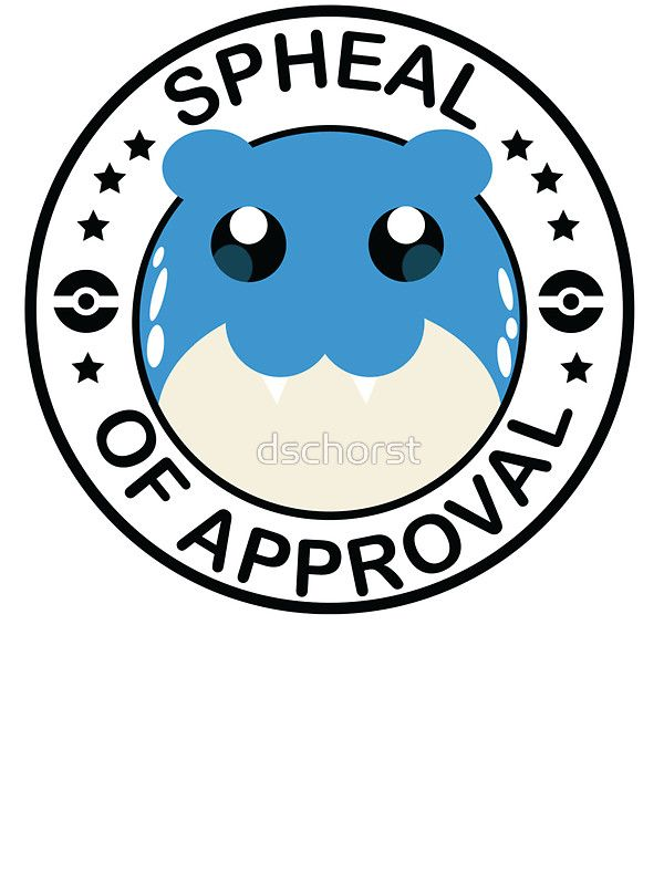 Pokemon Spheal of Approval by dschorst