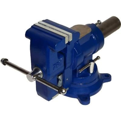 Yost 5 In Heavy Duty Multi Jaw Rotating Combination Pipe And Bench Vise Home The O 39 Jays And