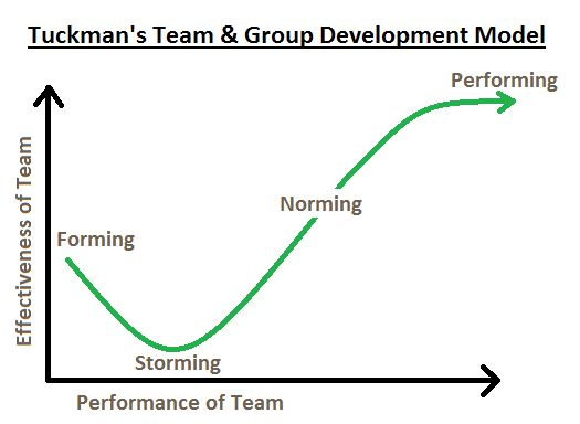 tuckman theory and difference between group and team essay The number of stages a group has to run through may vary from different groups  but according to tuckman (1965), there are 4 stages in group development.