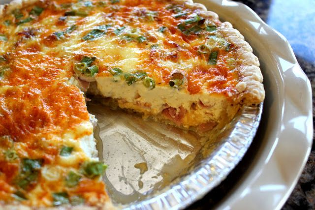 Ham and Cheese Quiche | The Girl Who Cooked Everything | Pinterest
