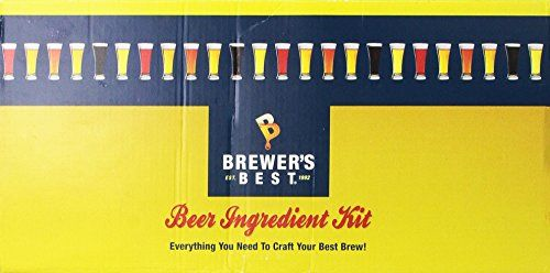 Beer Home Brewing Starter Set: Brewers Best Whiskey Barrel Stout Beer Ingredient Kit * To view further for this item, visit the image link.
