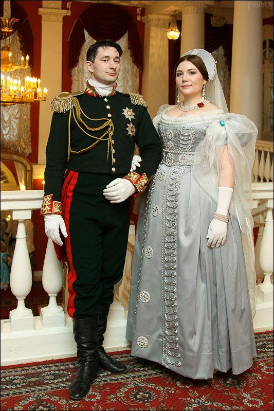 Elena Potapova creation. Russian court dress, 1830's reproduction. Outstanding!