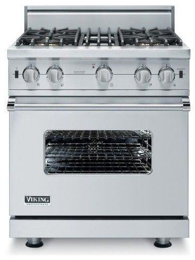 Viking! I WANT this stove for my home one day!! It's the BEST!!! :)