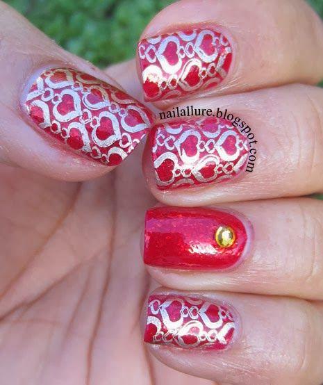 nailallure valentine #nail #nails #nailart