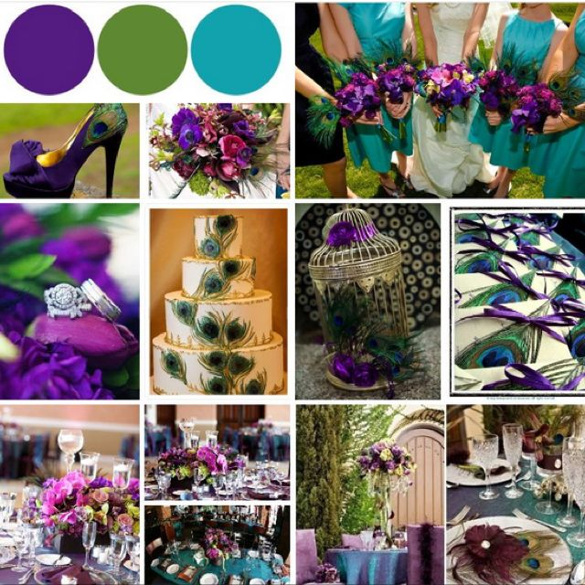 Best 25 Peacock Color Scheme Ideas On Pinterest: 25+ Best Ideas About Purple Turquoise Weddings On