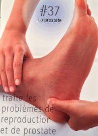 La réflexologie des pieds : La prostate : Ce point réflexe traite les problèmes de reproduction et de prostate