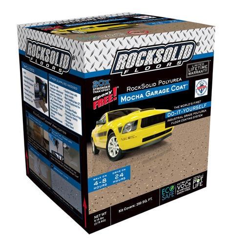 RockSolid Polyurea Mocha Garage Coat™ at Menards for