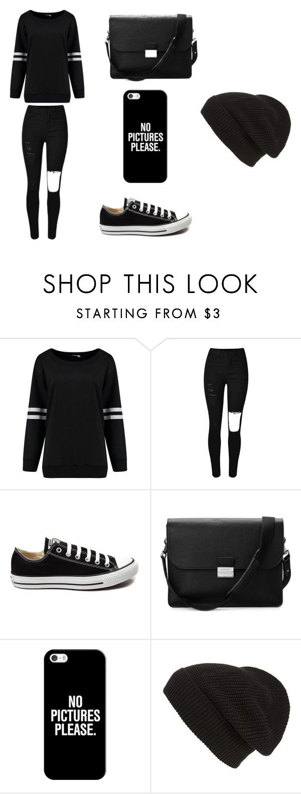 """""""Untitled #96"""" by karenrodriguez-iv on Polyvore featuring Converse, Aspinal of London, Casetify, Phase 3, women's clothing, women, female, woman, misses and juniors"""