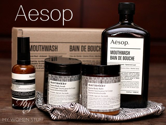aesop mouthwash New! Aesop collaborates with Marimekko, Introduces a mouthwash and adds on a Parsley Seed Antioxidant Hydrator