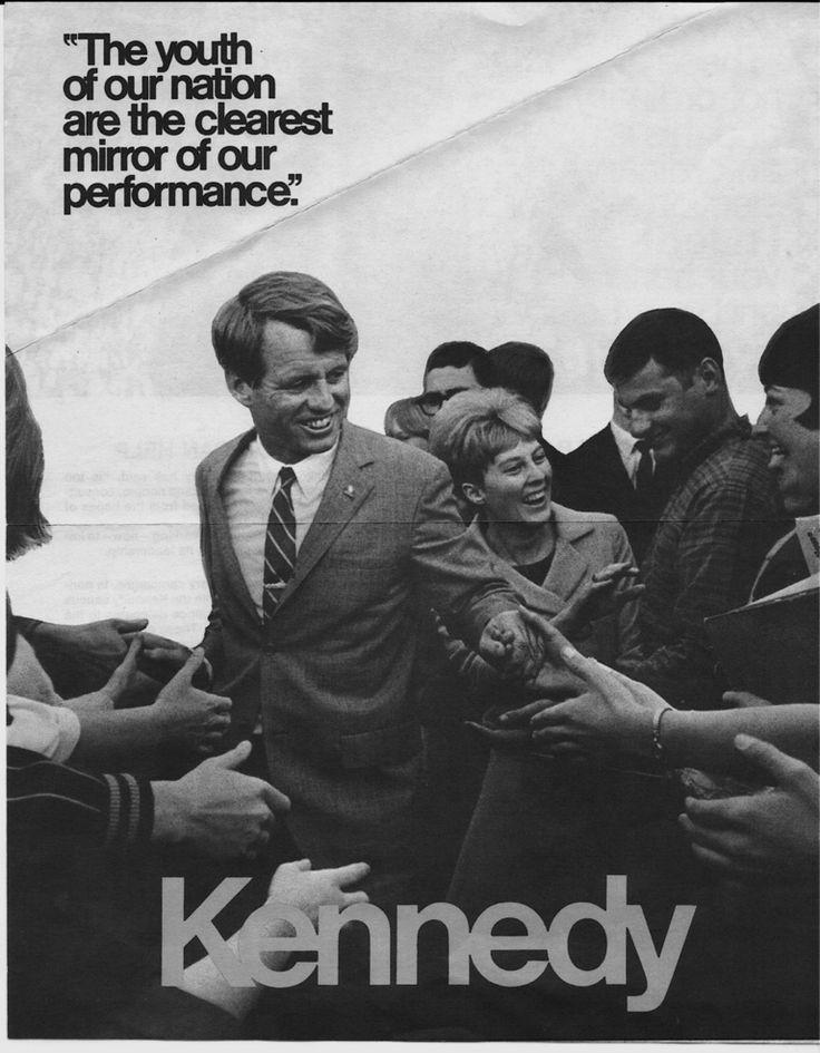 RFK campaign poster, 1968