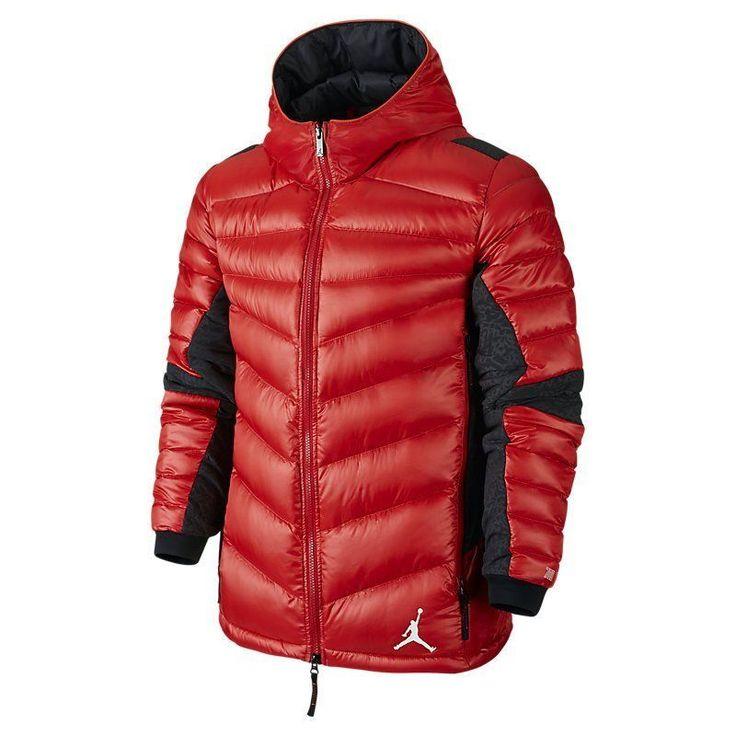 0ad331ebeb0a red nike puffer jacket