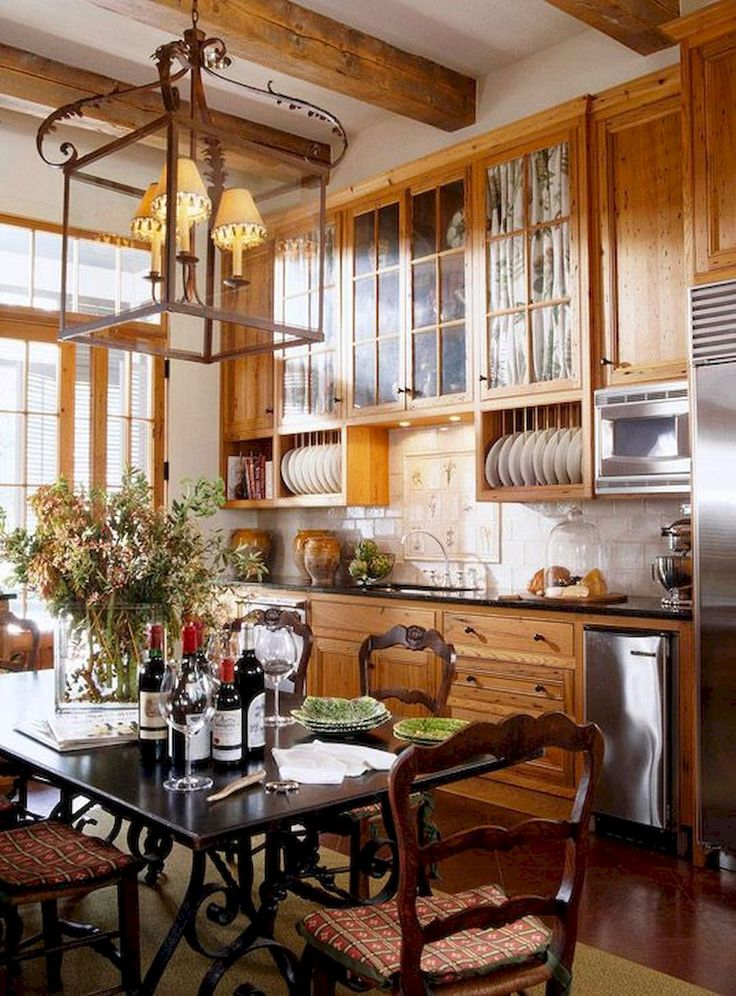 60 Beautiful French Country Kitchen Decor Ideas
