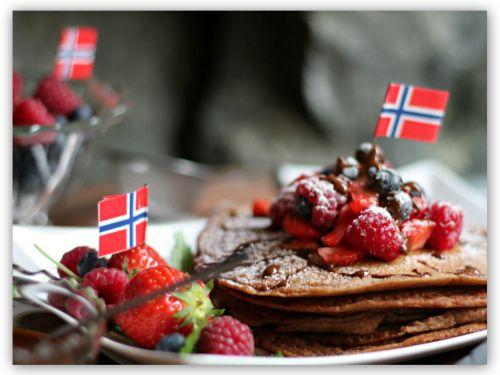 Pannekaker uten gluten og egg :) (En helseblogg om jakten etter en friskere...)